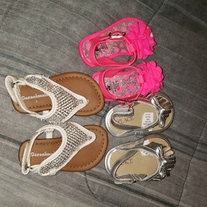 Girls Sandal lot